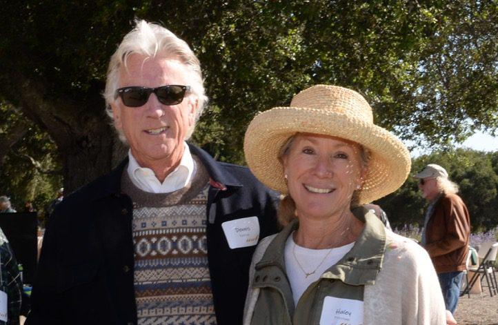 Dennis Patrick and Haley Firestone