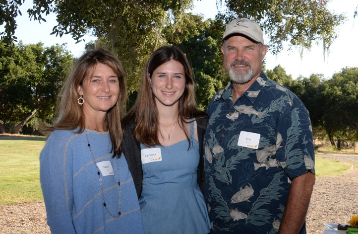 The Kett Family: (L to R) Rachel, Catalina and Eric